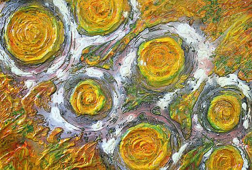 Yellow Balls by Ian Cameron