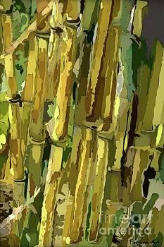 Yellow Bamboo by Dragica Micki Fortuna