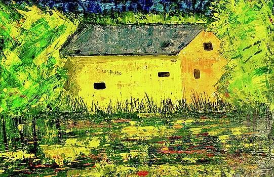 Yellow Barn  by Julia S Powell