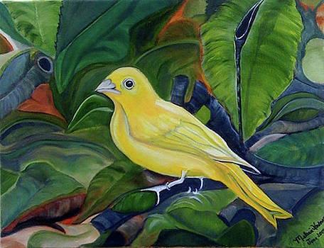 Yellow Bird by Melanie Wadman