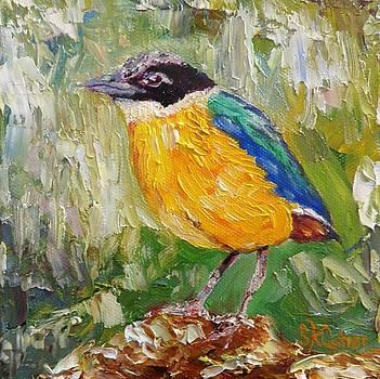 Yellow Bird by Sandra Cutrer