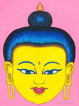 Yellow Buddha by Michelle Darensbourg