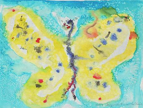 Suzanne  Marie Leclair - Yellow Butterfly