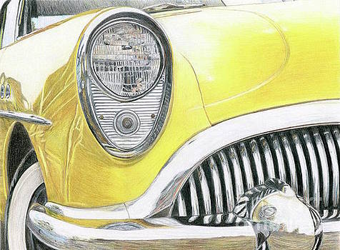 Yellow Car by Tammie Painter