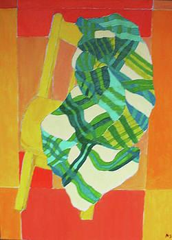 Yellow Chair by Martin Silverstein