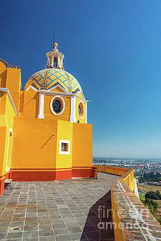 Yellow Church View by Jess Kraft