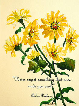 Yellow Daisies Poem By Karin Dawn Kelshall Best