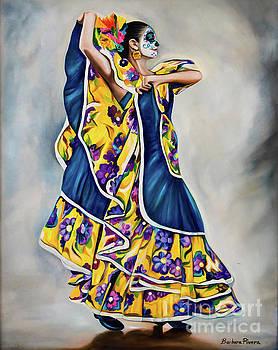 Yellow Dancer by Barbara Rivera