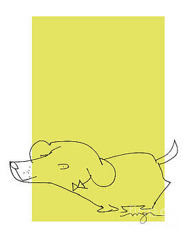Yellow Dog by Marilyn MacGregor