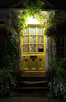 Yellow Door by Svetlana Sewell