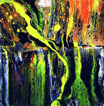Yellow Falls by Cheryl Ehlers