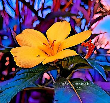 Rizwana A Mundewadi - Yellow Fantasy