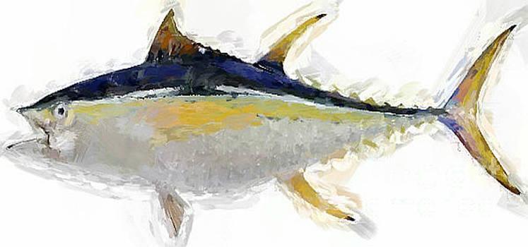 Yellow Fin Tuna by Jennifer Capo
