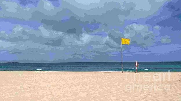 Yellow Flag Impressionism by Mike O'Hagan