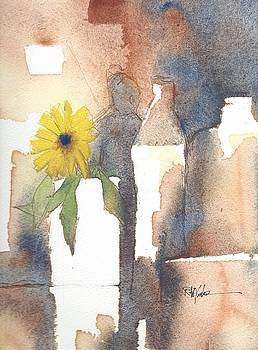 Yellow Flower  by Robert Yonke