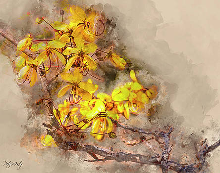 Yellow Flowers by Petrus Bester