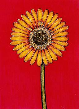 Yellow Gerbera by Richard Lee