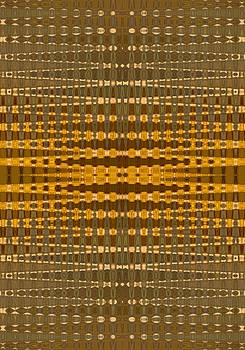 Yellow Gold Khaki Pattern design by BrightVibesDesign