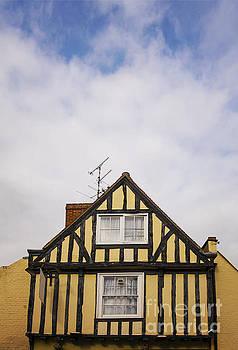 Sophie McAulay - Yellow half timbered house