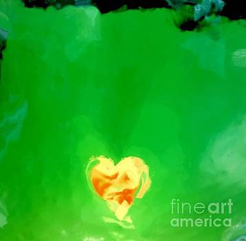 Yellow Heart by Glennis Siverson