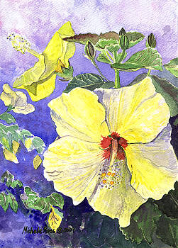 Yellow Hibiscus No. 3 by Michele Ross