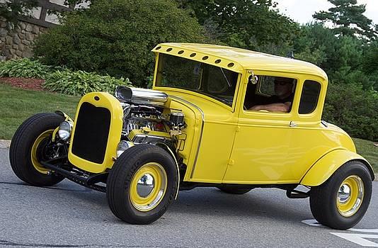 Yellow Hot Rod by Chris Alberding
