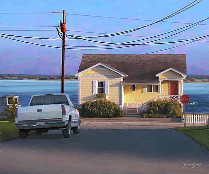 Yellow House by the Sea by Norman Drake