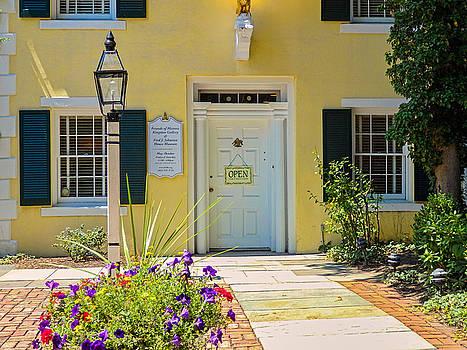 Yellow House in Kingston by Nancy De Flon