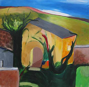 Yellow House by Sarah Whitecotton