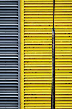 Yellow In Abstraction by Russ Dixon