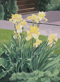Yellow Irises by Joan McGivney