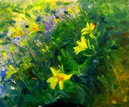 Yellow is my Color by Ann Bailey
