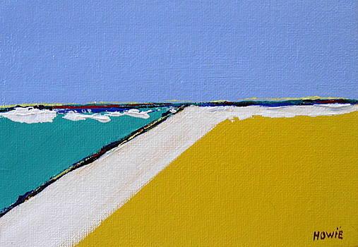 Yellow Landscape by Brooke Baxter Howie