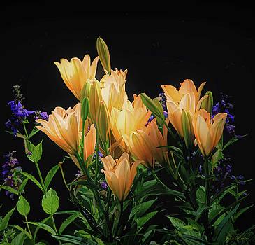 Yellow Lilies by John Rivera