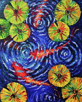 Yellow Lily Pond by Elizabeth Cox