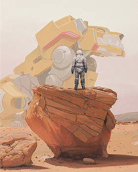 Yellow Lion by Scott Listfield