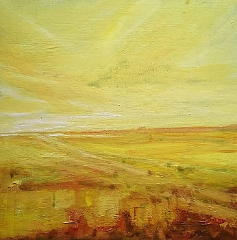 Yellow Marshes by Paul Mitchell