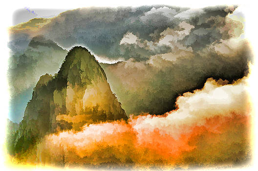 Dennis Cox WorldViews - Yellow Mountain Mists