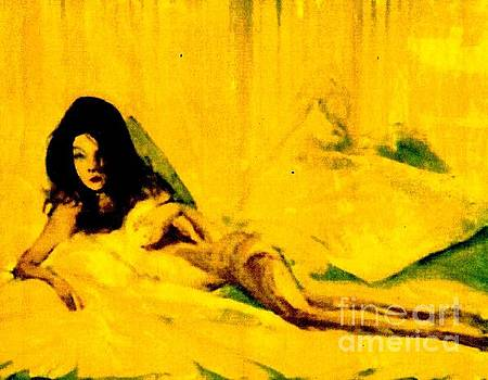 Yellow Nude by Harry WEISBURD