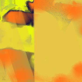 Dee Flouton - Yellow Orange Abstract