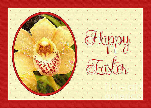 Yellow Orchid Easter by JH Designs