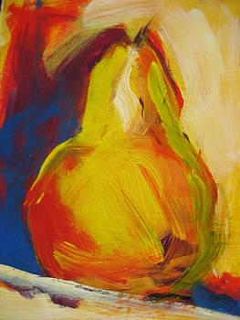 Yellow Pear by Susan Jenkins