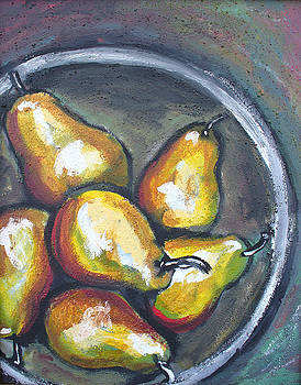 Yellow Pears by Sarah Crumpler