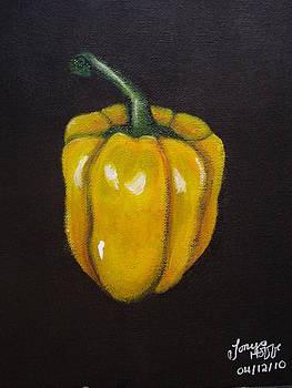 Yellow Pepper by Tonya Hoffe