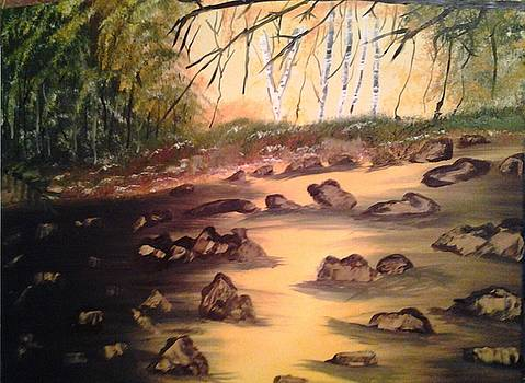 Yellow River by Shirley Vinch