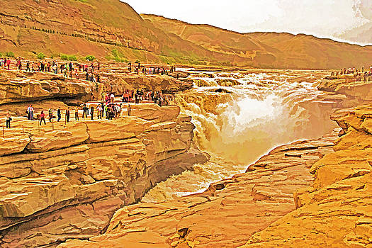 Dennis Cox ChinaStock - Yellow River Waterfalls