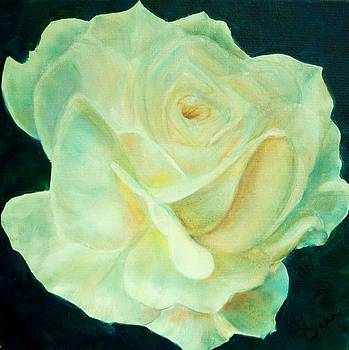 Yellow Rose 2 by Dana Redfern