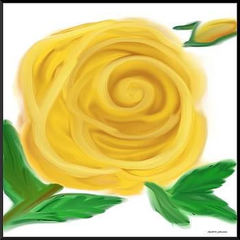 Gina Nicolae Johnson - Yellow rose