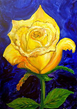 Yellow Rose II by Pete Maier