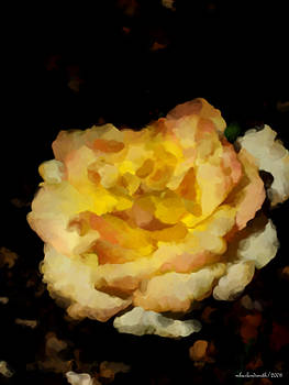 Michelle  BarlondSmith - Yellow Rose Impression No. 5